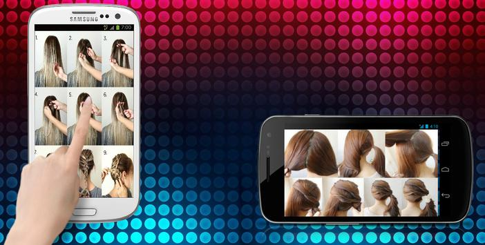 Hairstyles (step by step) screenshot 1