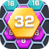 Merge  Block Puzzle - 2048 Hexa icon