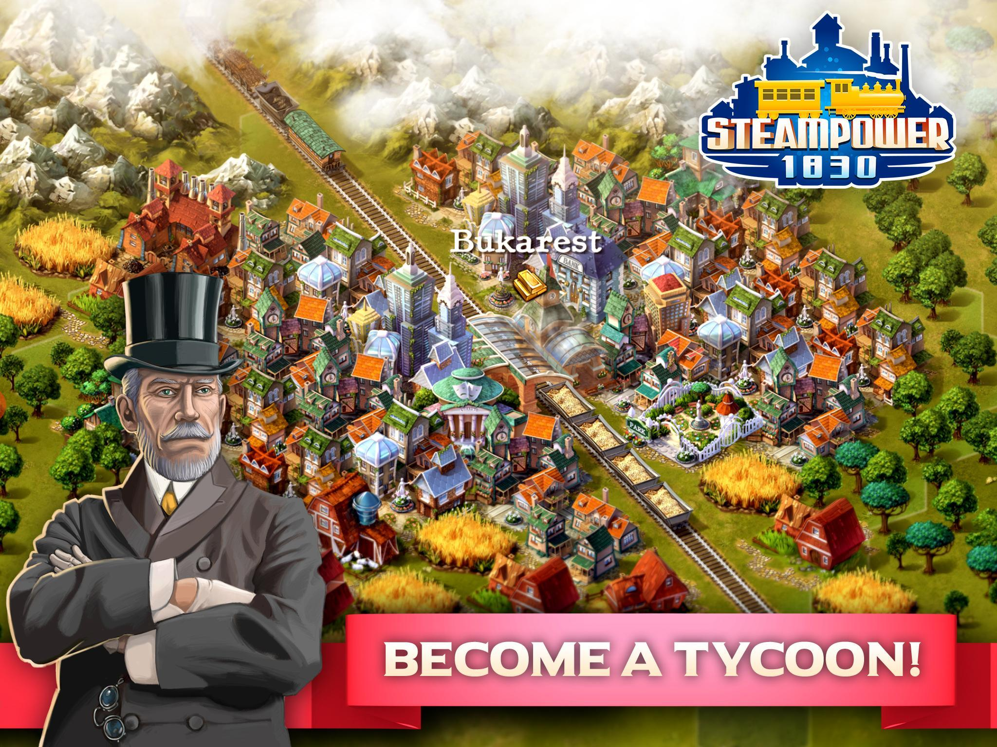 SteamPower 1830 Railroad Tycoon for Android - APK Download