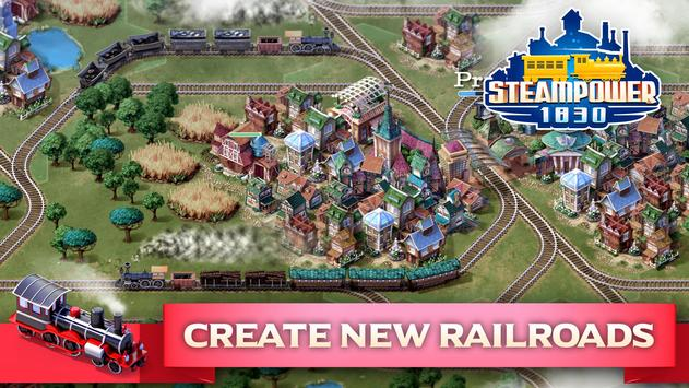 SteamPower 1830 Railroad Tycoon screenshot 1