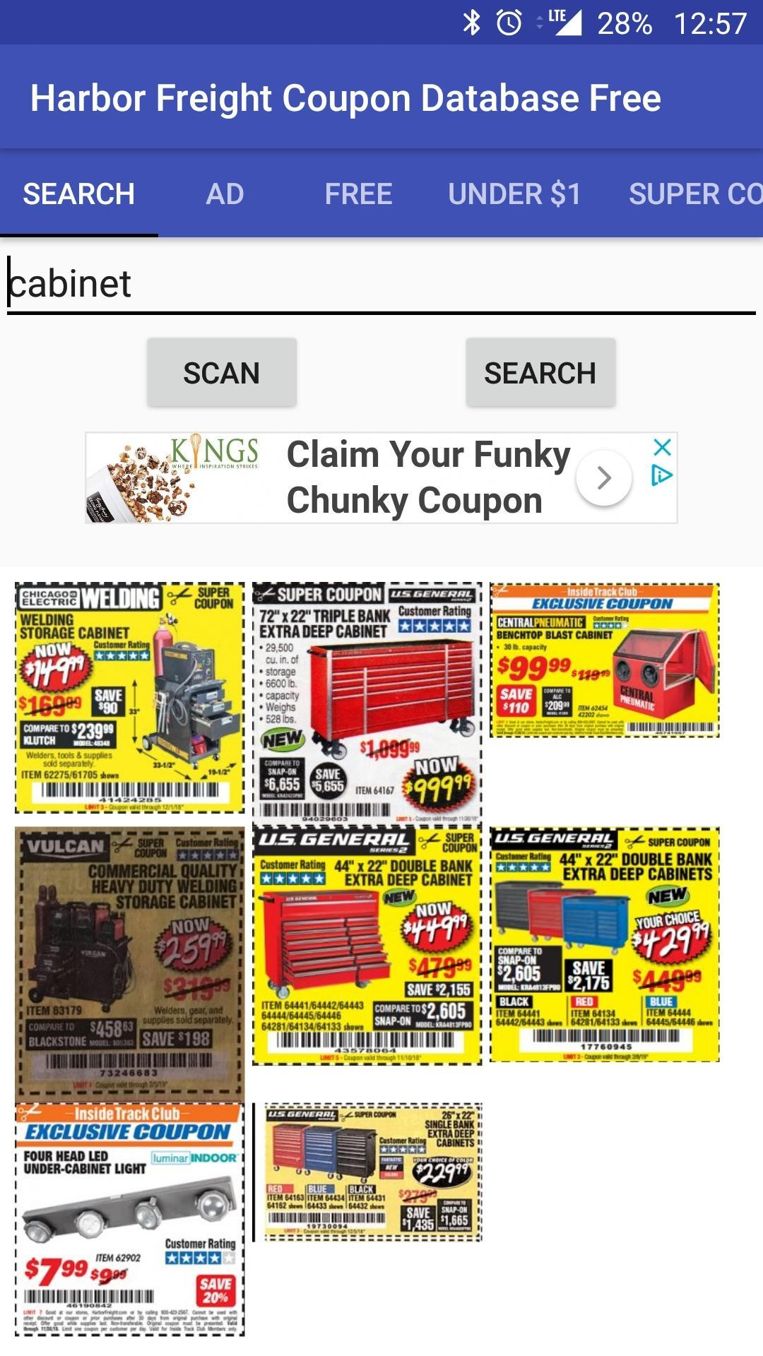 Harbor Freight Coupon Database - HFQPDB for Android - APK Download