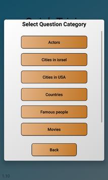 Quick Trivia screenshot 1