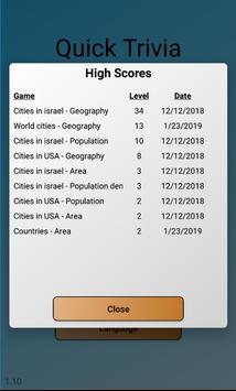 Quick Trivia screenshot 4