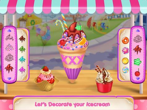 Icecream Cone Cupcake Baking Maker Chef poster