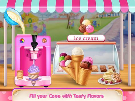 Icecream Cone Cupcake Baking Maker Chef screenshot 1