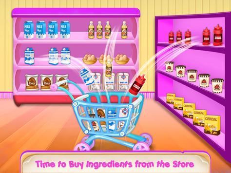 Icecream Cone Cupcake Baking Maker Chef screenshot 2