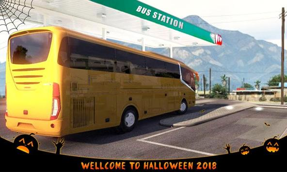 Euro Coach Bus Driving - offroad drive simulator poster