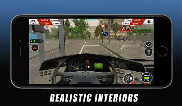 Euro Coach Bus Driving - offroad drive simulator screenshot 10