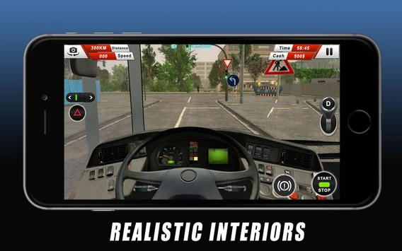 Euro Coach Bus Driving - offroad drive simulator screenshot 6