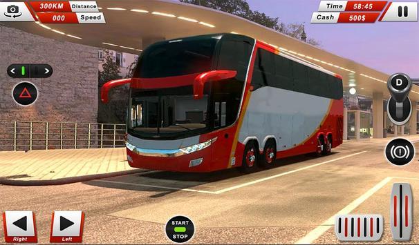 Euro Coach Bus Driving - offroad drive simulator screenshot 9