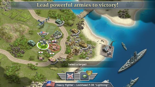 1942 Pacific Front - a WW2 Strategy War Game screenshot 1