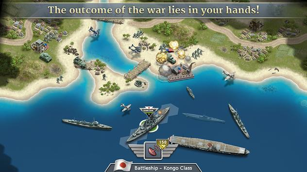 1942 Pacific Front - a WW2 Strategy War Game screenshot 5