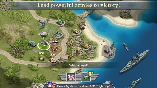 1942 Pacific Front - a WW2 Strategy War Game screenshot 8
