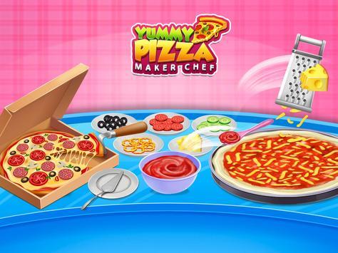 Pizza Maker Chef Baking Kitchen screenshot 5