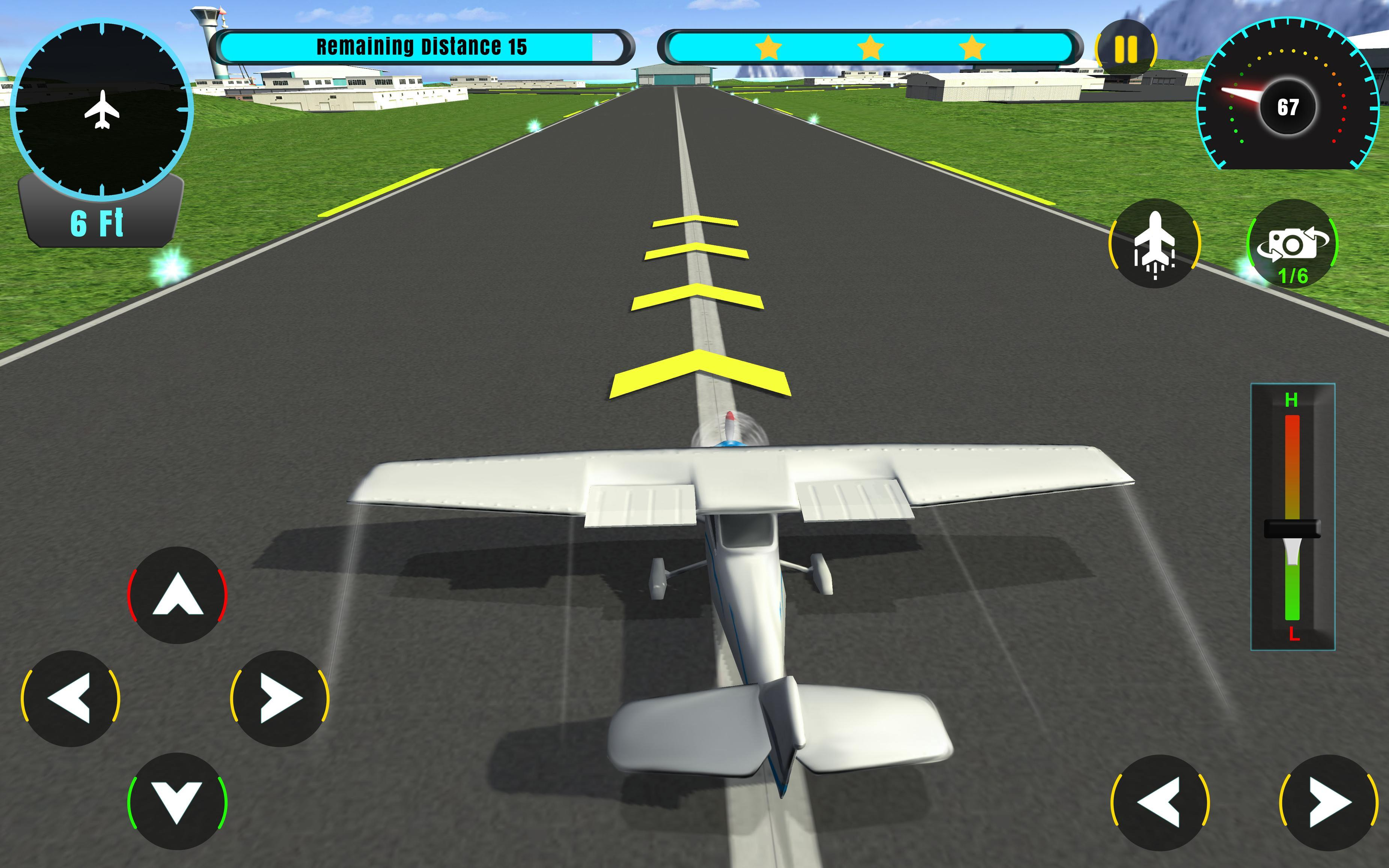 Airplane Flying Pilot 3D: Flight Games for Android - APK