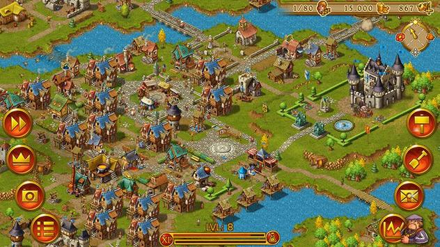 타운스맨: 전략 시뮬레이션 (Townsmen) 스크린샷 6