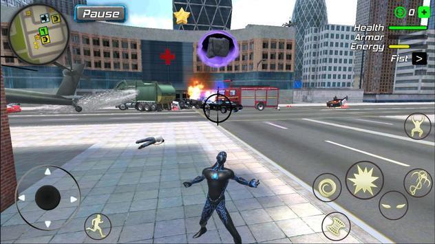 Black Hole Hero : Vice Vegas Rope Mafia تصوير الشاشة 11