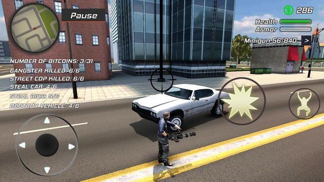 Grand Action Simulator - New York Car Gang captura de pantalla 15