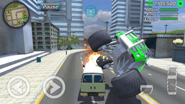 Grand Action Simulator - New York Car Gang Poster