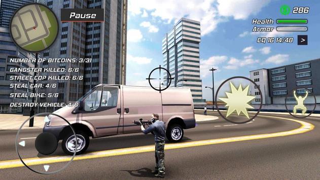 Grand Action Simulator - New York Car Gang captura de pantalla 7