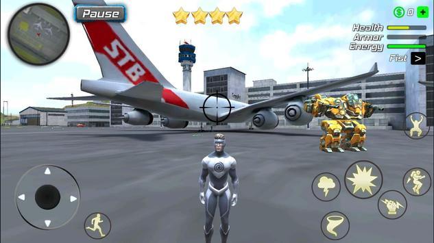 Hurricane Superhero : Wind Tornado Vegas Mafia screenshot 7