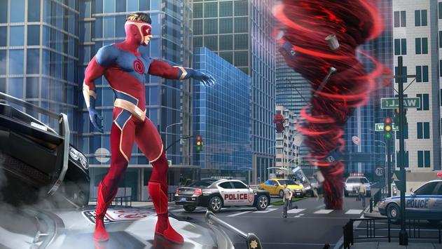 Hurricane Superhero : Wind Tornado Vegas Mafia poster