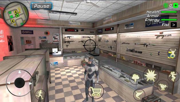 Hurricane Superhero : Wind Tornado Vegas Mafia screenshot 12
