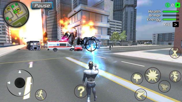 Hurricane Superhero : Wind Tornado Vegas Mafia screenshot 17