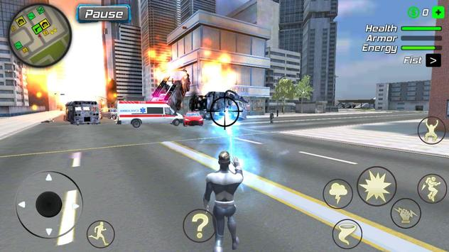 Hurricane Superhero : Wind Tornado Vegas Mafia screenshot 3