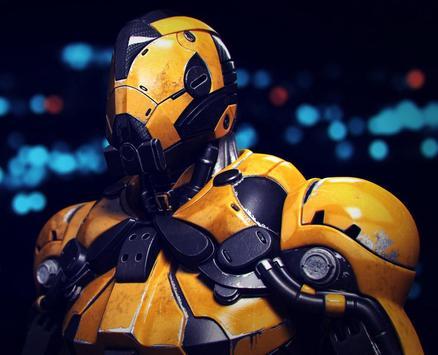 3 Schermata Super Crime Steel War Hero Iron Flying Mech Robot