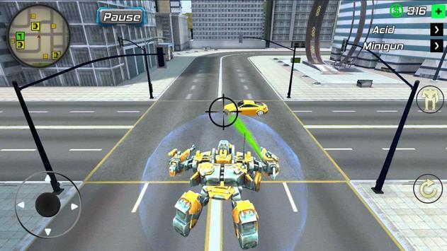 Super Crime Steel War Hero Iron Flying Mech Robot screenshot 2