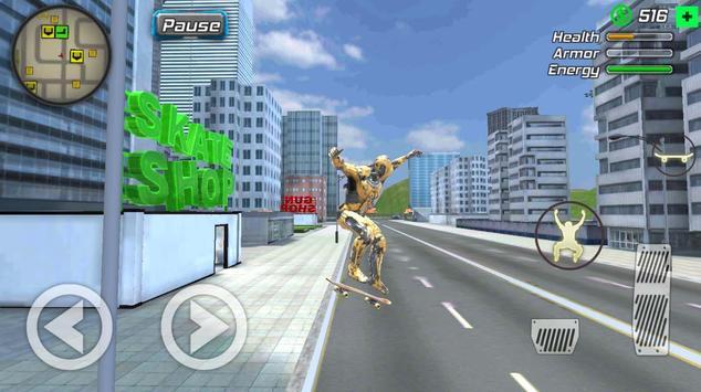 Super Crime Steel War Hero Iron Flying Mech Robot screenshot 8