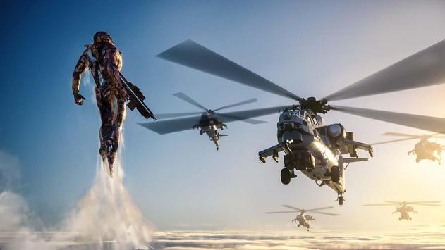 9 Schermata Super Crime Steel War Hero Iron Flying Mech Robot