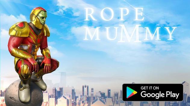 Rope Mummy Crime Simulator: Vegas Hero poster