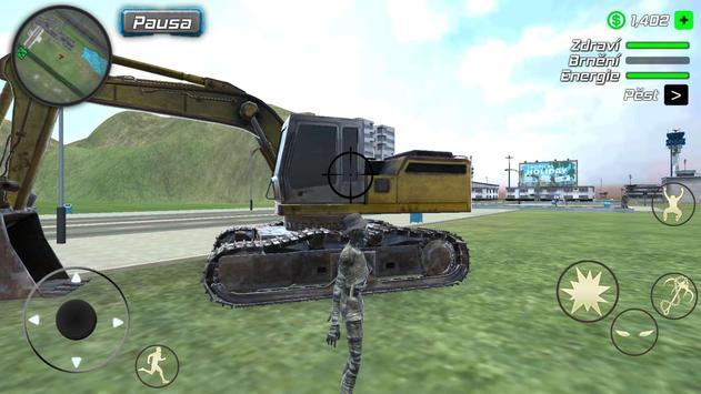 Rope Mummy Crime Simulator: Vegas Hero screenshot 14