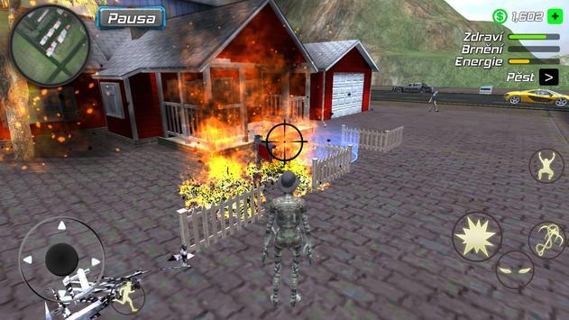 Rope Mummy Crime Simulator: Vegas Hero screenshot 15