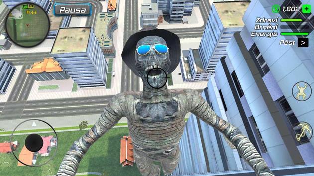 Rope Mummy Crime Simulator: Vegas Hero screenshot 3