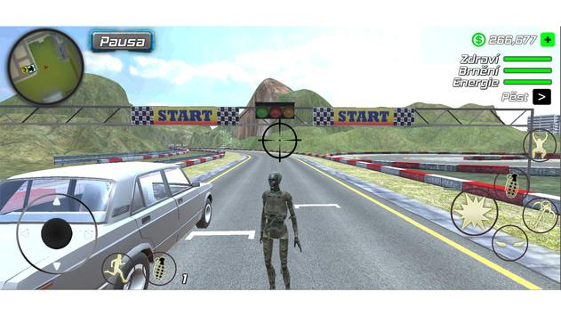 Rope Mummy Crime Simulator: Vegas Hero screenshot 6