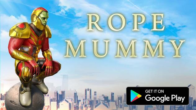 Rope Mummy Crime Simulator: Vegas Hero screenshot 8