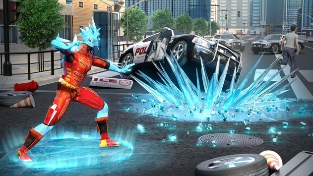 Snow Storm Superhero screenshot 16