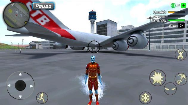 Snow Storm Superhero screenshot 12