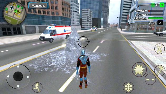 Snow Storm Superhero screenshot 1