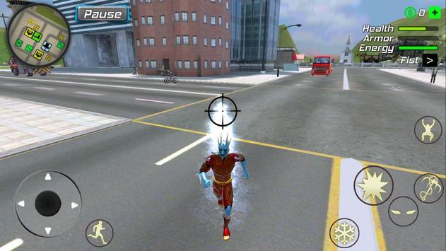 Snow Storm Superhero screenshot 21