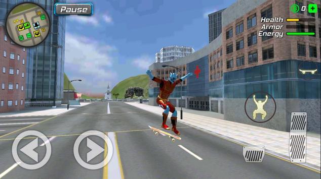 Snow Storm Superhero screenshot 6