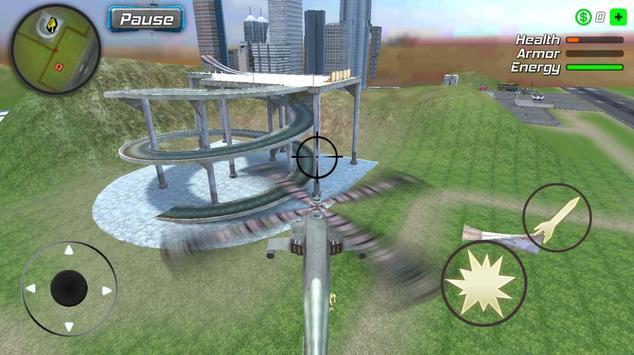 Snow Storm Superhero screenshot 7