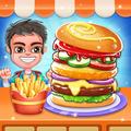 Fast  Food  Burger  Maker - Free  Cooking  Game