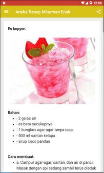 Aneka Resep Minuman Enak screenshot 1