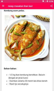 Resep Masakan Ikan Laut screenshot 2