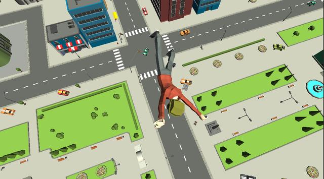 Human Throw Ragdoll Physics screenshot 1