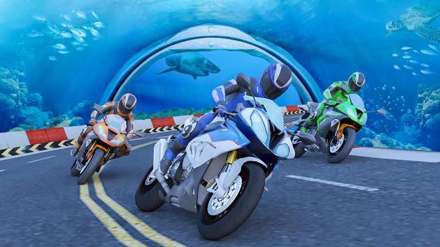 Underwater Bike Extreme Stunt Racing screenshot 2
